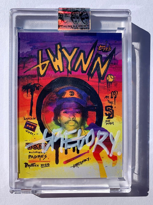 1983 Tony Gwynn by Gregory Siff - Smoky White Autograph