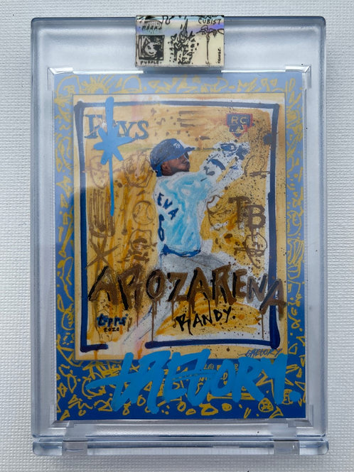 Topps X Gregory Siff - Randy Arozarena World Series -  Autograph