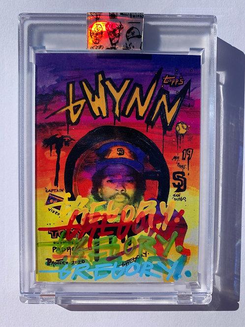 1983 Tony Gwynn by Gregory Siff - 5-Color Autograph