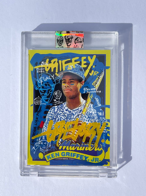1989 Ken Griffey Jr. by Gregory Siff - Pop Yellow Autograph