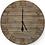 Thumbnail: Reclaimed Wooden Clock