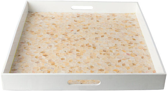 Mother of Pearl Tray Set