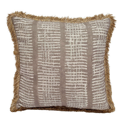 New Lines Pillow- Fawn