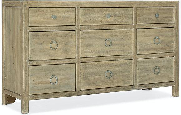 Surfrider Nine-Drawer Dresser