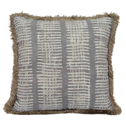 New Lines Pillow- Slate