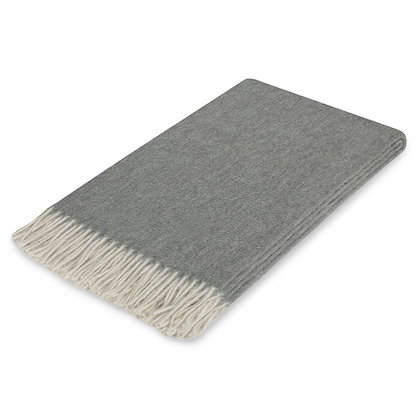 Lusuosso Cashmere Throw- Charcoal