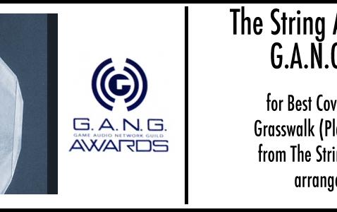 Dren wins GANG Award at GDC