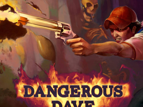 Dangerous Dave in the Deserted Pirate's Hideout (the game & soundtrack) are released! Chipbi