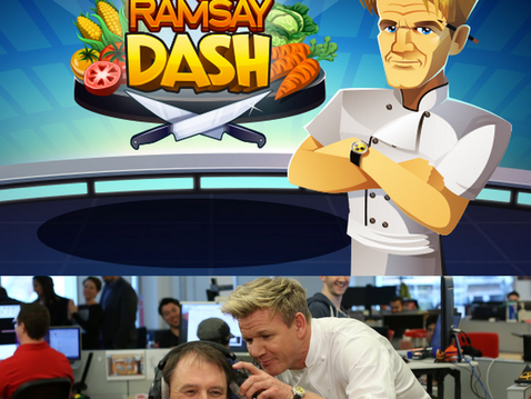 Gordon Ramsay Dash is Launched!