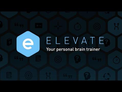 Elevate Named Apple's Best App 2014