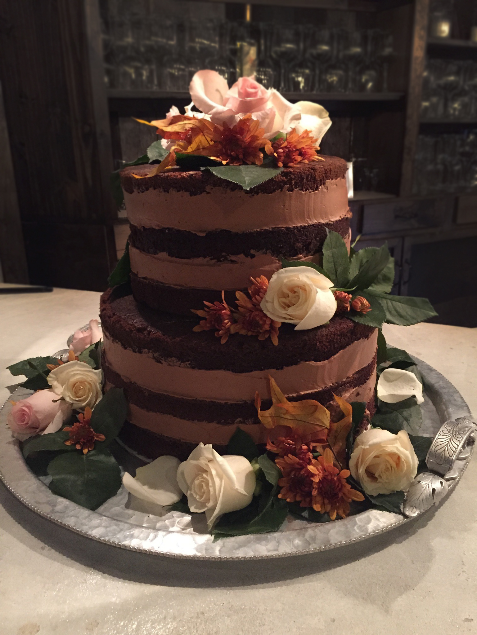 Custom Wedding Cake NJ
