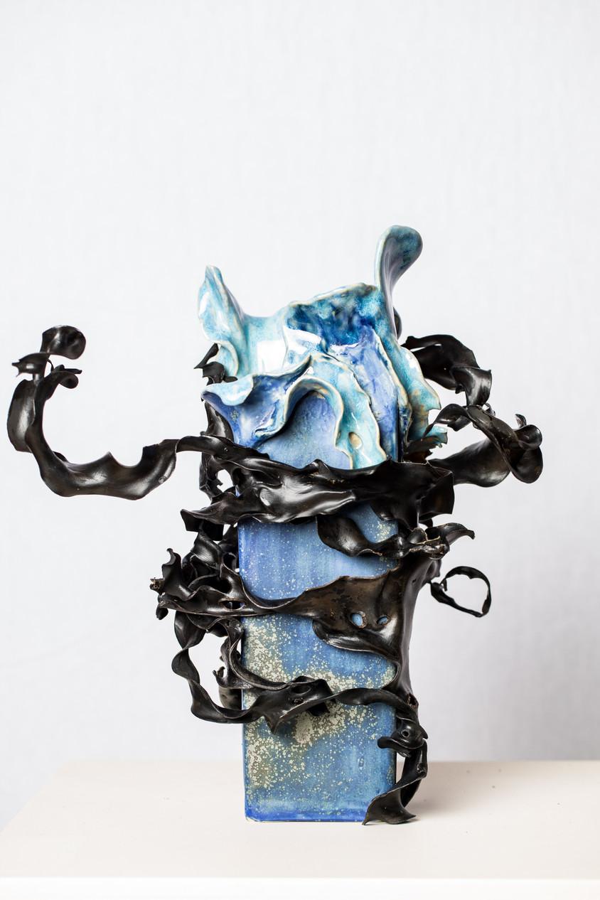 Blue Ocean Vase