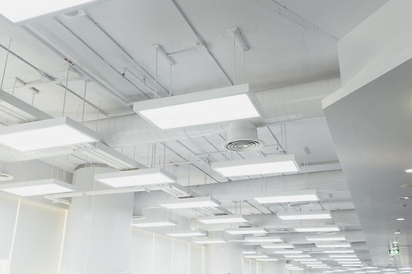 Beautifully lights and ventilation system of modern building..jpg