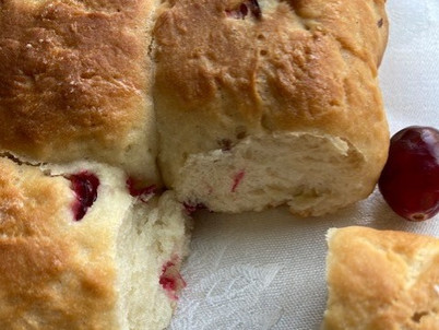Pulling Apart on the Holidays(Cranberry Bread)