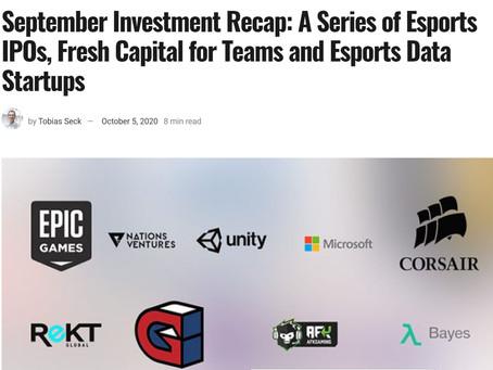 Esports Observer Investment Recap