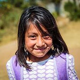 child in volunteer program, guatemalan, guatemala