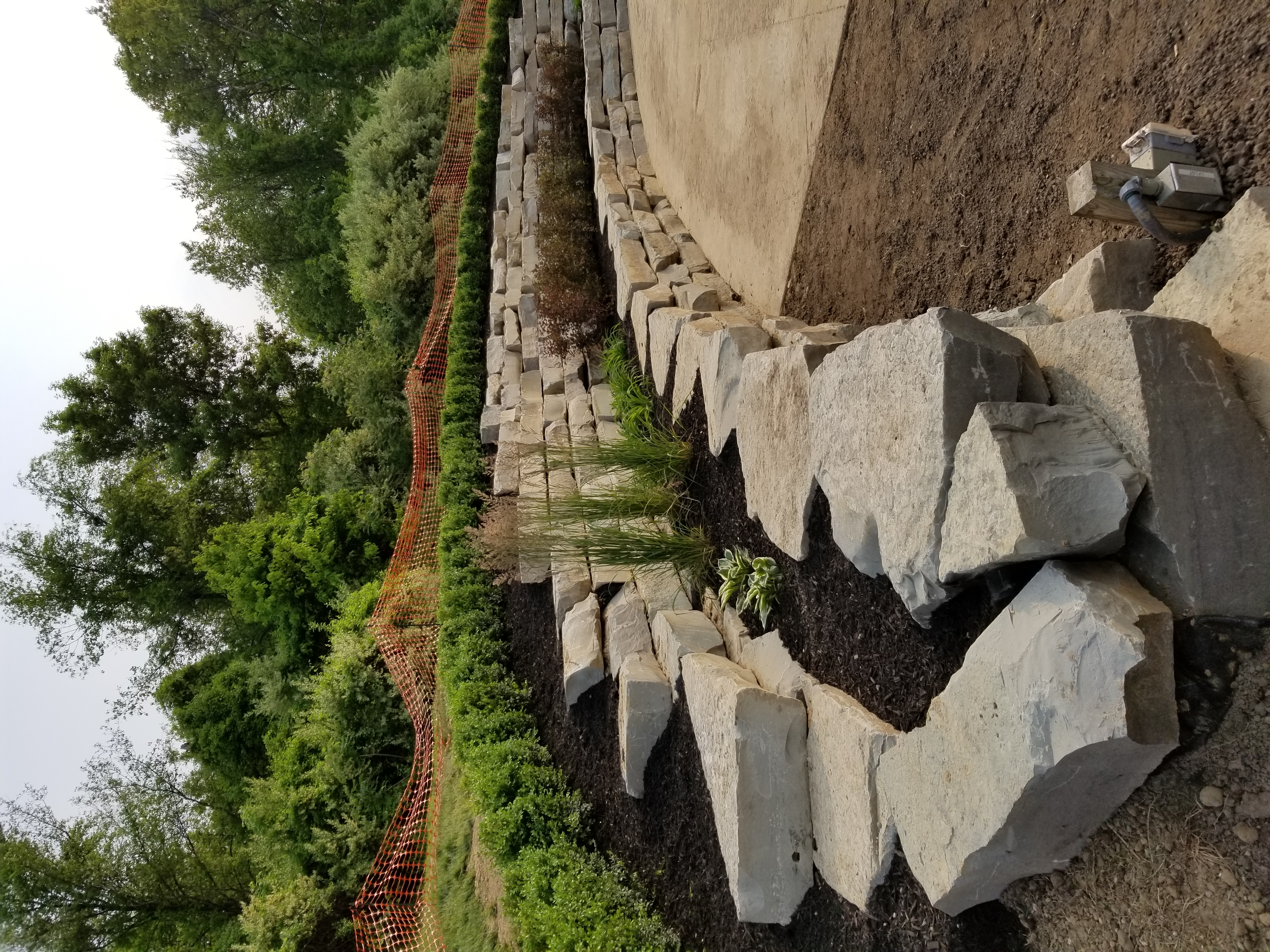 Landscape/Retaining Wall