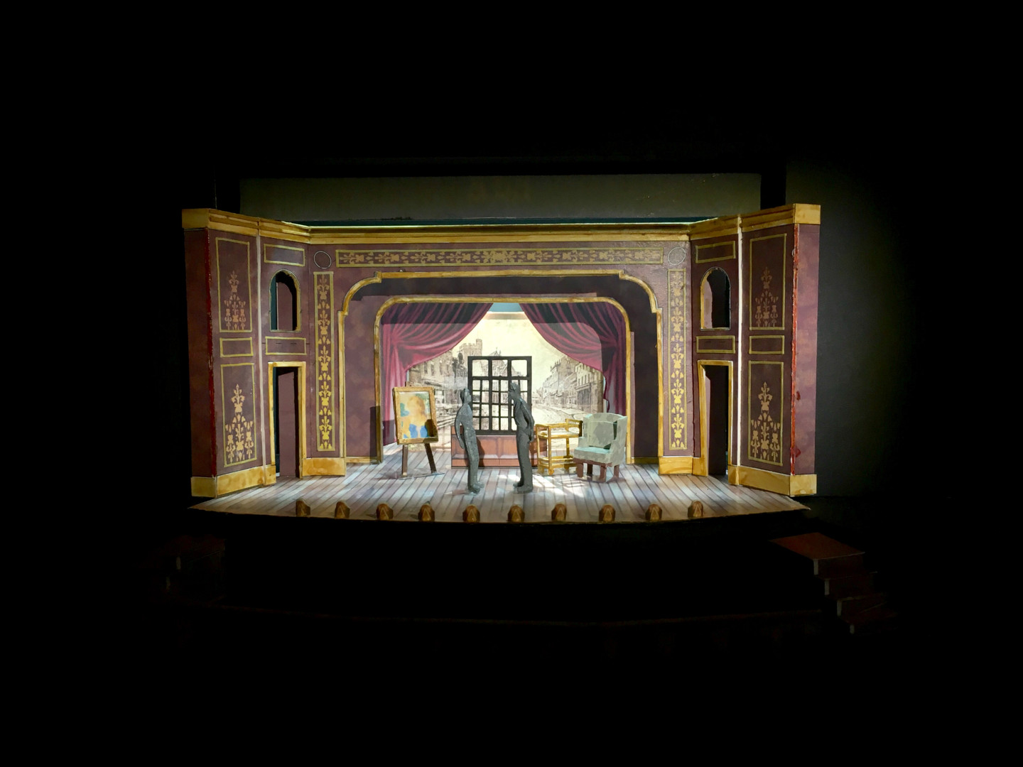 """The Mystery of Edwin Drood"" 1/4"" Model"