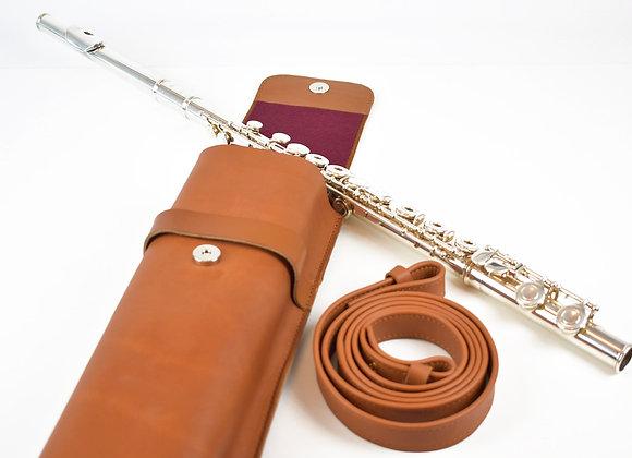 sac à dos cuir flûte traversière