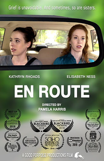 En Route - dramatic film poster