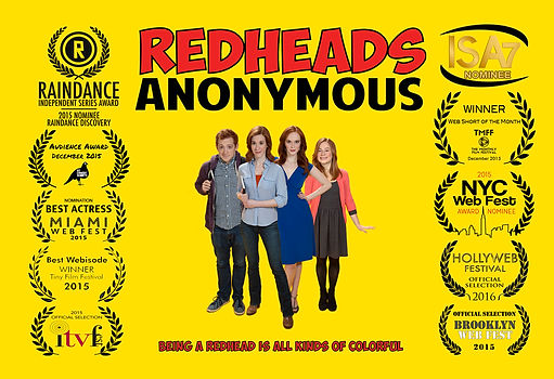 Redhead Anonymous comedy series