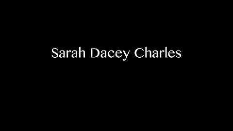 Sarah Dacey Charles 2018 Film Demo - Good Porpoise