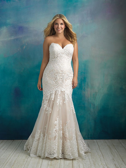 Allure Bridals| W410