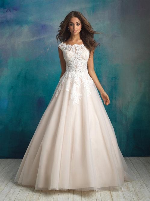 Allure Bridals| 9520