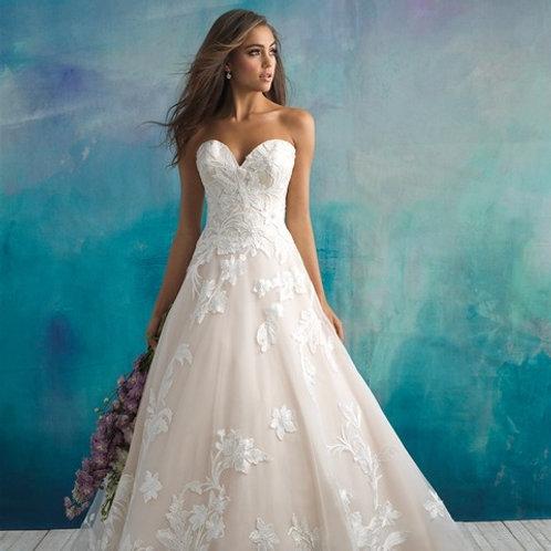 Allure Bridals| 9502
