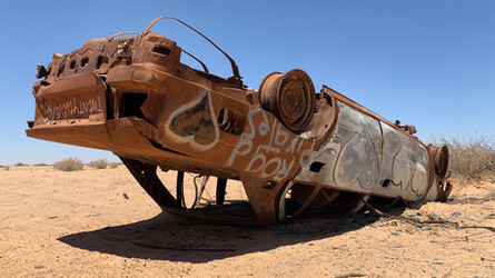 Sheree Cairney The Road _CarCarcass_1 IM