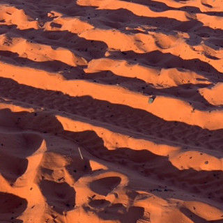 sunglow on sand