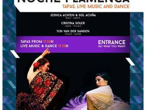 Noche Flamenca in Popei met Cristina Soler en Sol Acuña