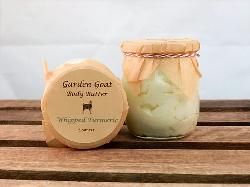 Whipped Turmeric Body Butter