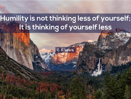 Humility will get you far in Business
