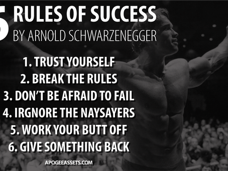 The 6 Rules of Success