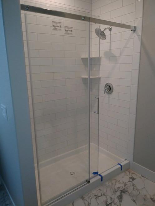 Glass Shower Door, Oregon