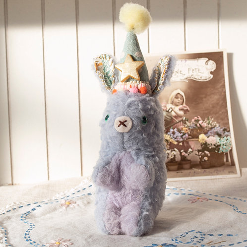 Shooting Star Rabbit (blue)