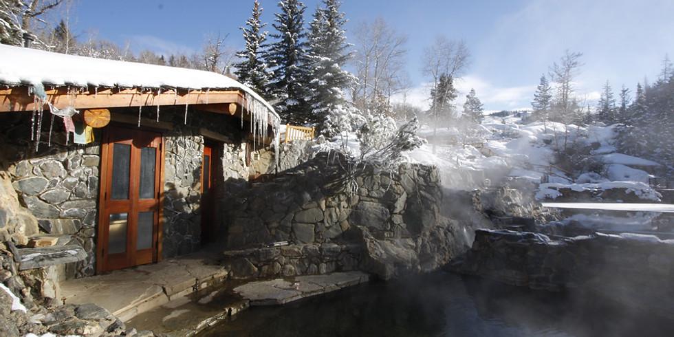 Wild Soul Moon Bathing - Strawberry Park Hot Springs, Colorado