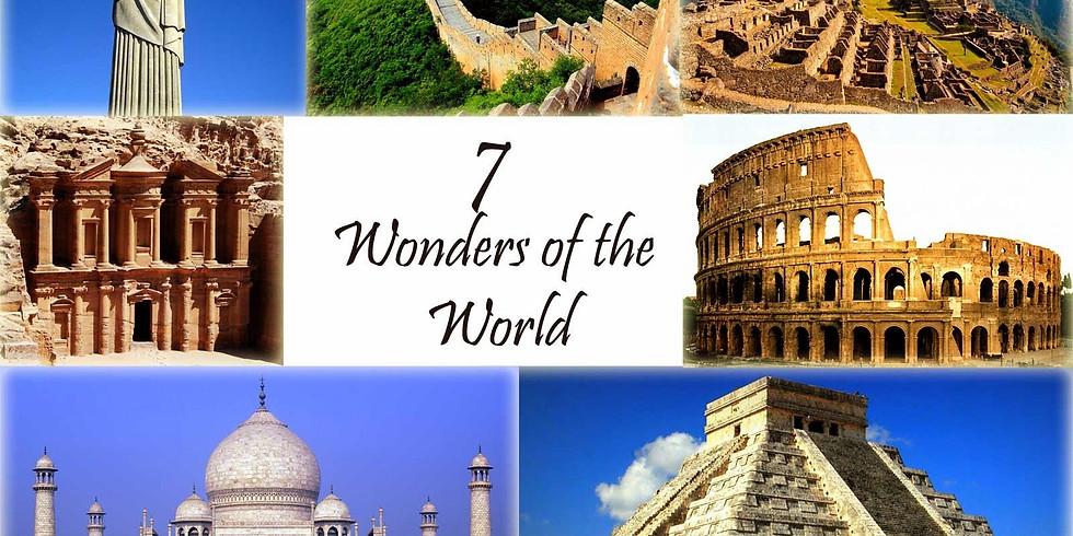 Seven Wonders of the World Bucket List Tour