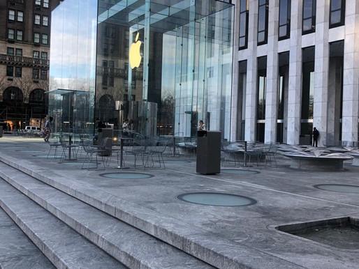 Curadoria NY: Visitamos a Apple na 5ª Avenida
