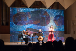 Laura Wayte and string trio