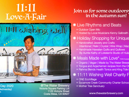 11:11 Love-A-Fair at The Water Brewery