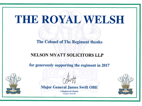 Royal Welsh sponsors