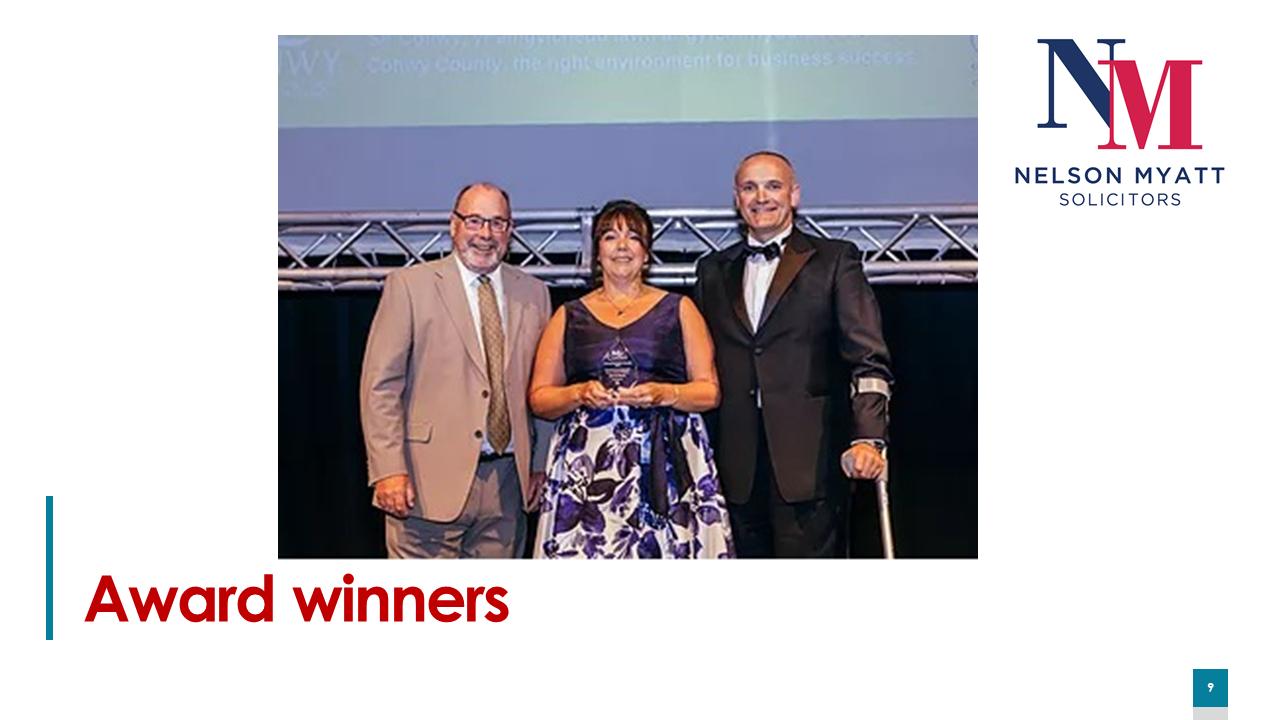 Nelson Myatt award winners