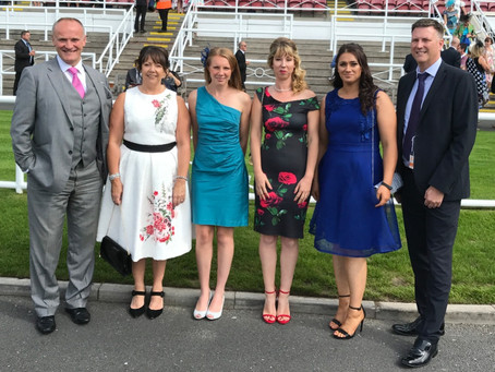Enjoying Chester races