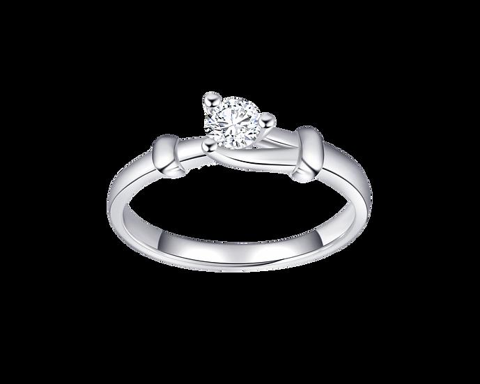 .20 CT Diamond Split Shank Engagement Ring
