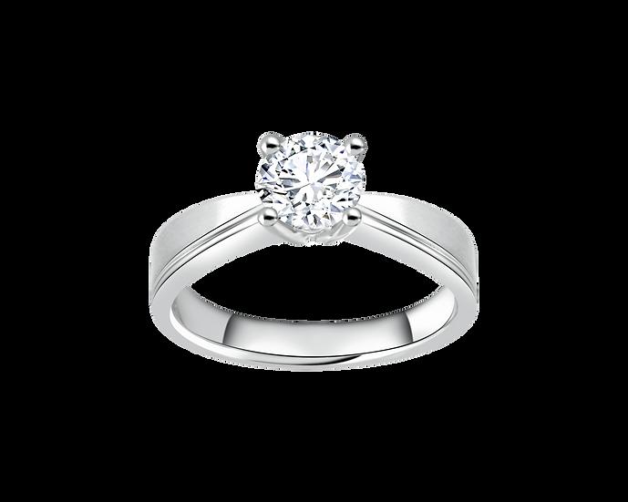 .60 CT Diamond Reverse Tapered Engagement Ring