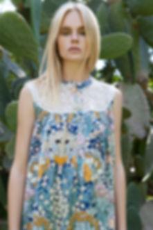 Gelfer Design - Fan Dress Lacey