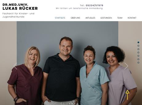 Dr. med. univ. Lukas Rücker - Kinderarzt