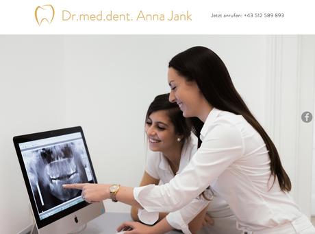 Dr. med. dent. Anna Jank - Zahnärztin